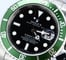 Rolex Submariner 16610V Green and Black