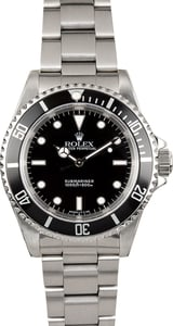 Rolex No Date Sub 14060 100% Authentic