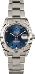 "Rolex Thunderbird 116264 Blue ""Turn-o-Graph"""