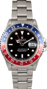 Rolex Pepsi GMT-Master II 16710 Certified Pre-Owned
