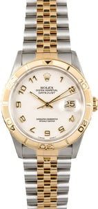 Rolex Two-Tone Datejust Thunderbird 16263 Jubilee