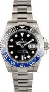 Rolex GMT-Master II 116710BLNR Batman Blue