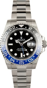 Unworn Rolex 'Batman' GMT-Master II 116710