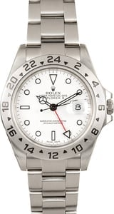 Men's Rolex Explorer II Men's Stainless Steel 16570 T T