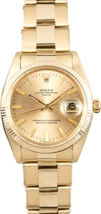 Rolex Gold Oyster Date 1501