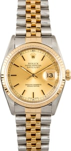 Two-Tone Rolex Datejust 16233 Jubilee