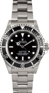 Rolex Submariner No Date 14060M Serial Engraved