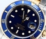Rolex Submariner 16613 Blue Serial Engraved