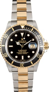 Rolex Submariner Two-Tone 16613 Oyster