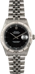 Rolex Datejust 16264 Black Thunderbird