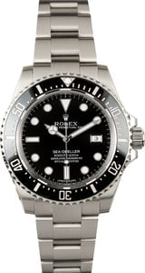 PreOwned Rolex Sea-Dweller 116600 Black Ceramic Bezel