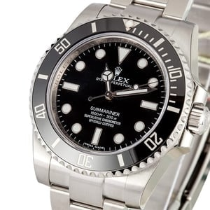 Rolex No Date Submariner 114060 Watch