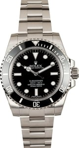 Rolex Submariner 114060 No Date Factory Stickers