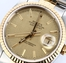 Rolex Two-Tone Datejust 16233 Linen Dial