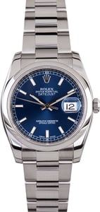 Rolex Datejust 116200 Blue