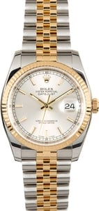 Rolex Datejust Two-Tone 116233 Silver