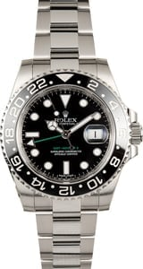 Used Rolex GMT-Master II Model 116710 Ceramic Bezel