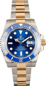 Rolex Submariner 116613 Blue Sunburst Dial