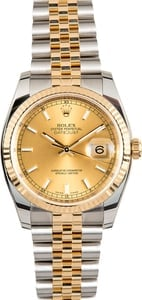 Rolex Datejust 116233CSJ Two-Tone Jubilee