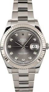 Rolex Datejust II 116334 Diamonds