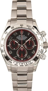 White Gold Rolex Daytona 116509