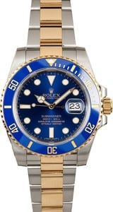 Rolex Submariner Two-Tone 116613LB Sunburst