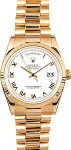 Rolex President Day-Date 118238 Roman Dial