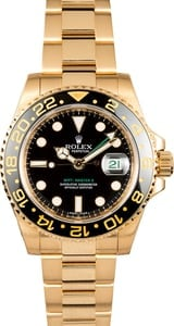 Rolex GMT Master II Yellow Gold 116718