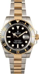 Submariner Rolex 116613 Black Bezel