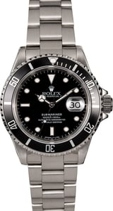 Rolex Submariner 16610 Black Dial and Bezel