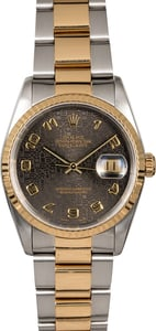Men's Rolex Datejust 16233 Black Jubilee Dial