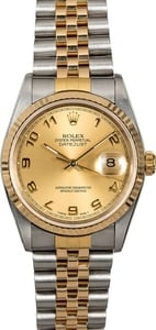 Men's Rolex Datejust 16233 Arabic Dial