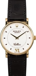 Rolex Cellini 5115 - 18K Yellow Gold