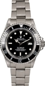 Men's Rolex Sea-Dweller 16600 Black Bezel