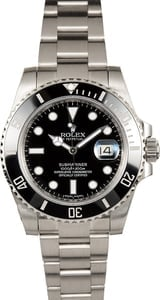Authentic Rolex Submariner 116610 Steel Band