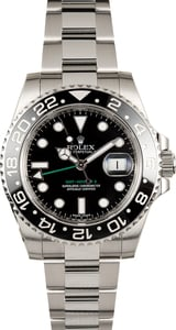 Men's Rolex GMT-Master II 116710 Black Ceramic