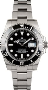 Used Rolex Submariner 116610 Black Ceramic Bezel