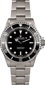 Men's Rolex Submariner 14060 Stainless Steel Oyster