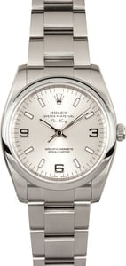 Stainless Steel Rolex Air-King 114200