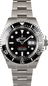 Pre Owned Rolex 126600 Red Lettering Sea-Dweller