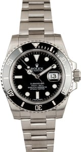 Men's Rolex Submariner 116610 Stainless Steel