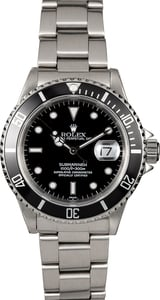 116289 Men's Rolex Submariner 16610