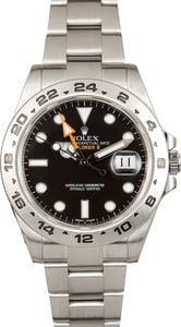 Rolex Explorer II Ref 216570 Black Luminous Dial