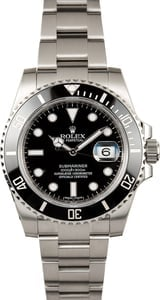 Rolex Submariner 116610 Black Ceramic Bezel Model