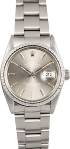 Pre-Owned Rolex Datejust 16030 Slate Dial