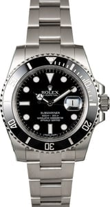 Rolex Submariner 116610 Black Time Lapse Bezel