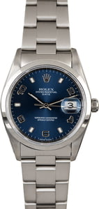 Men's Rolex Date Stainless Steel 15200