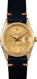 Rolex Date 15038 Yellow Gold Case