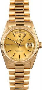 Rolex President 18038 Day-Date Yellow Gold