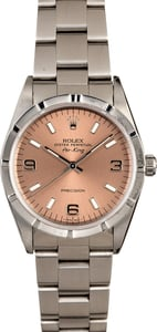 Rolex Air-King 14010 Salmon Dial